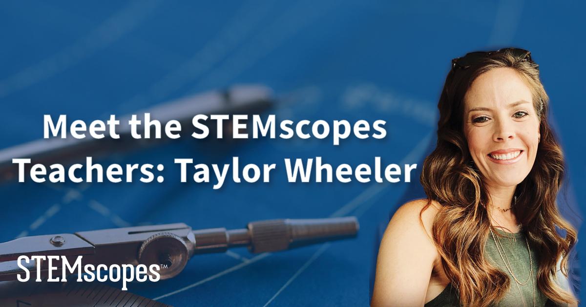 STEMscopes teacher writer